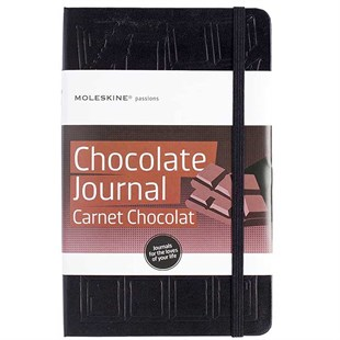 MOLESKINE Hard Cover Notebook - Chocolate Journal 13x21cm