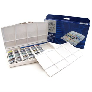 Winsor & Newton 24lü Cotman SuluBoya Water Colours