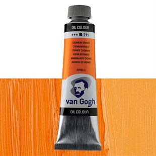 Talens Van Gogh 40ml Yağlı Boya Seri:2 No:211 Cadmium Orange